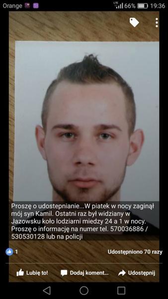 - Oddałabym życie za to, żebyś wrócił – mama zaginionego Kamila Pierzchały szuka go na własną rękę