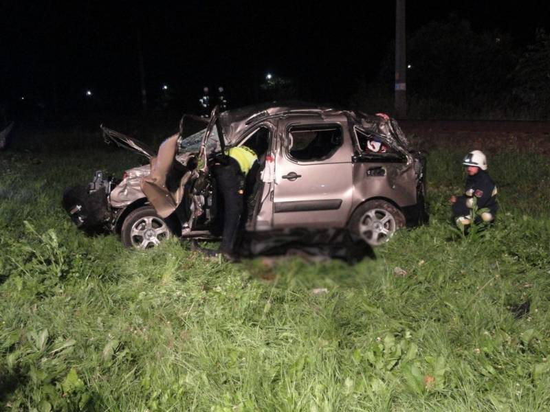Śmiertelny wypadek w Muszynie. Kierowca zginął na miejscu