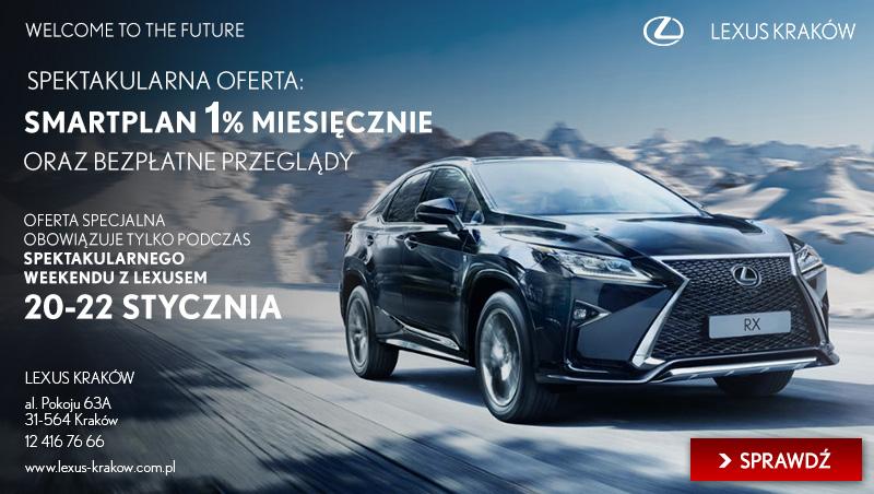 Lexus Kraków. SPEKTAKULARNY WEEKEND Z LEXUSEM 20-22 STYCZNIA 2017