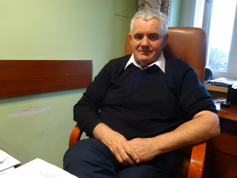 Wójt gminy Nawojowa Stanisław Kiełbasa