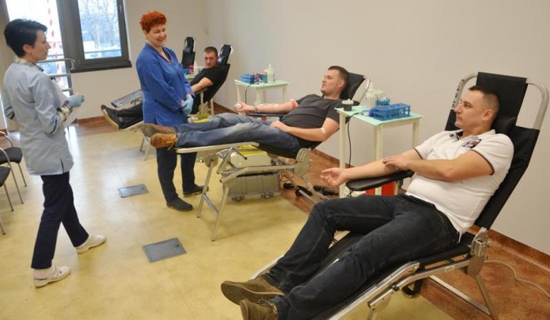 Oddaj krew - nie bój się to nie boli! Strażacy ze Stadeł zapraszają