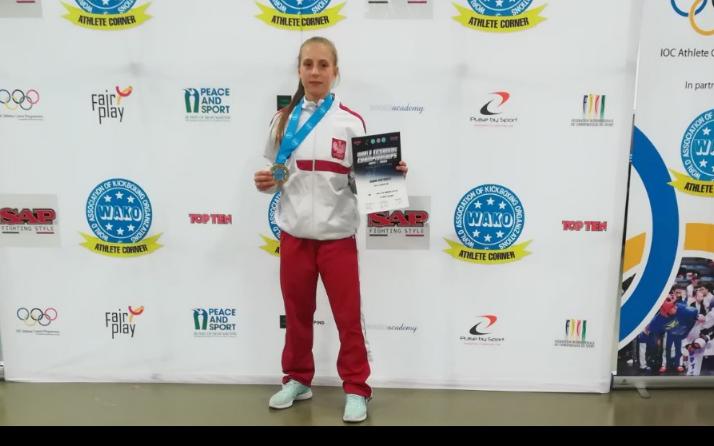 Julia Niewiadomska brązową medalistką Mistrzostw Świata