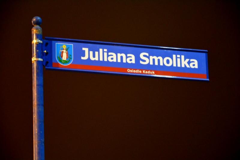 Nowe oświetlenie na ulicy Smolika