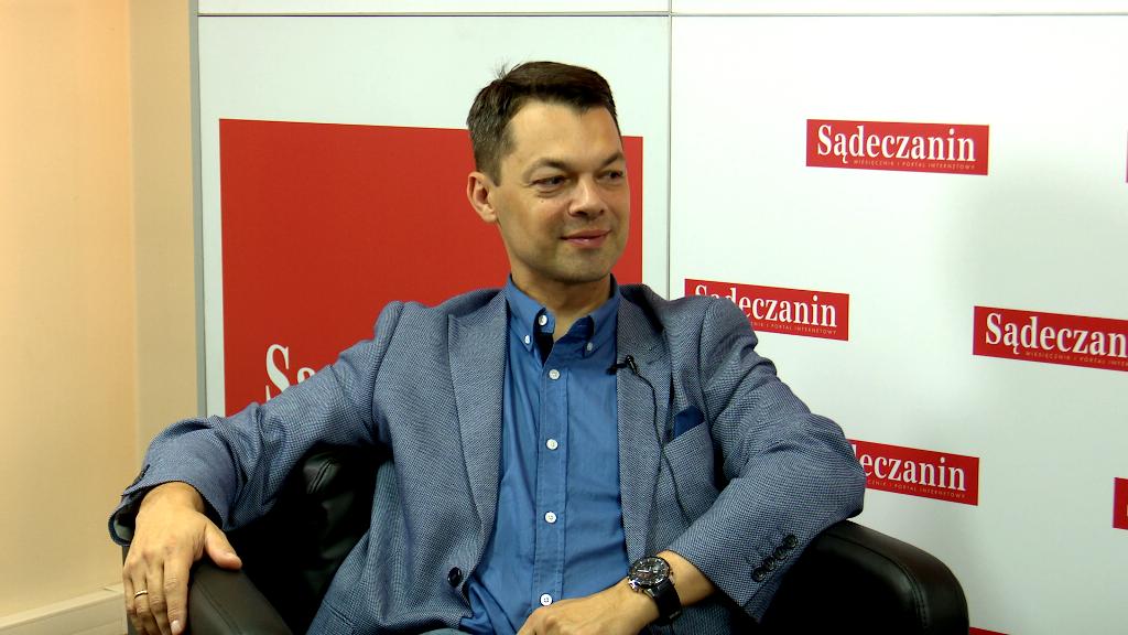Grzegorz Haslik, prezes Sandecji