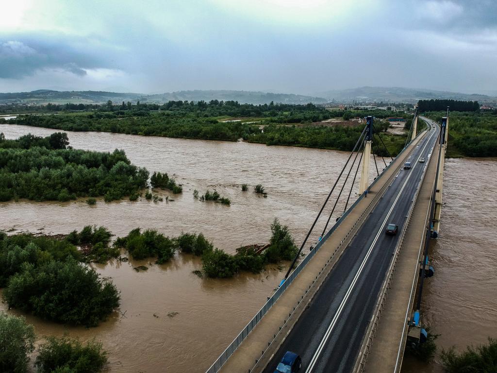 Dunajec na wysokości mostu św. Kingi. Fot. Rafał Michalik