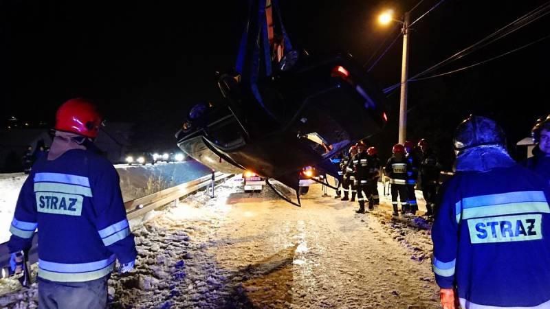 Wypadek w Niskowej