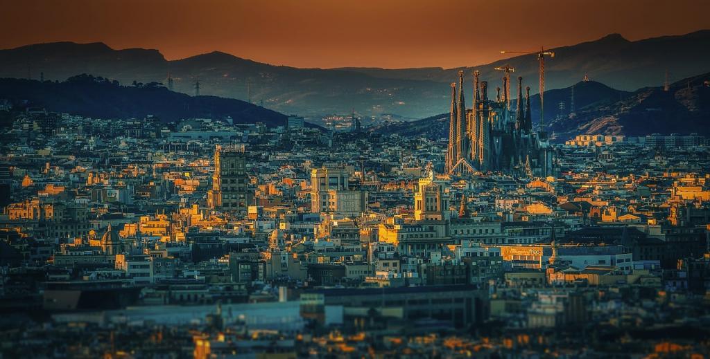 Barcelona. Fot walkerss/pixabay