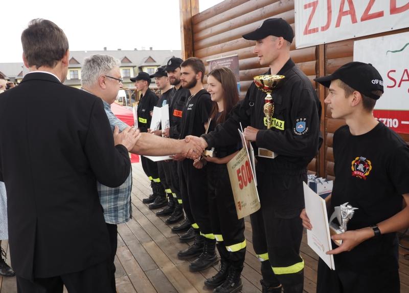 Zawody strażackie IV Zjazd Sądeczan