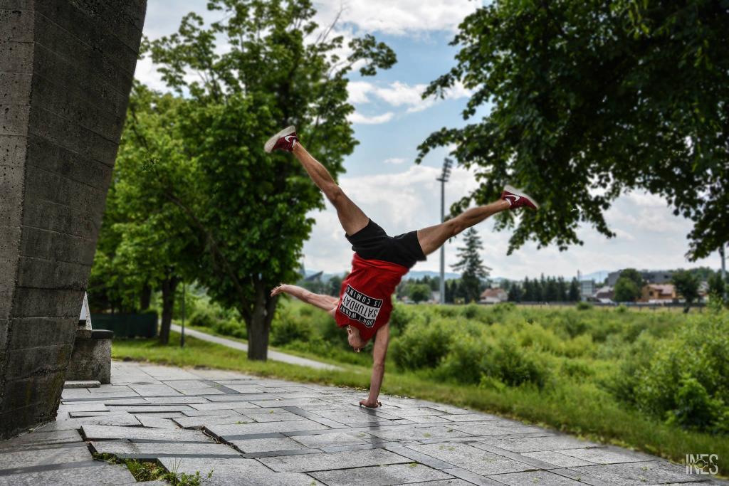 Mateusz Zięba Street Workout