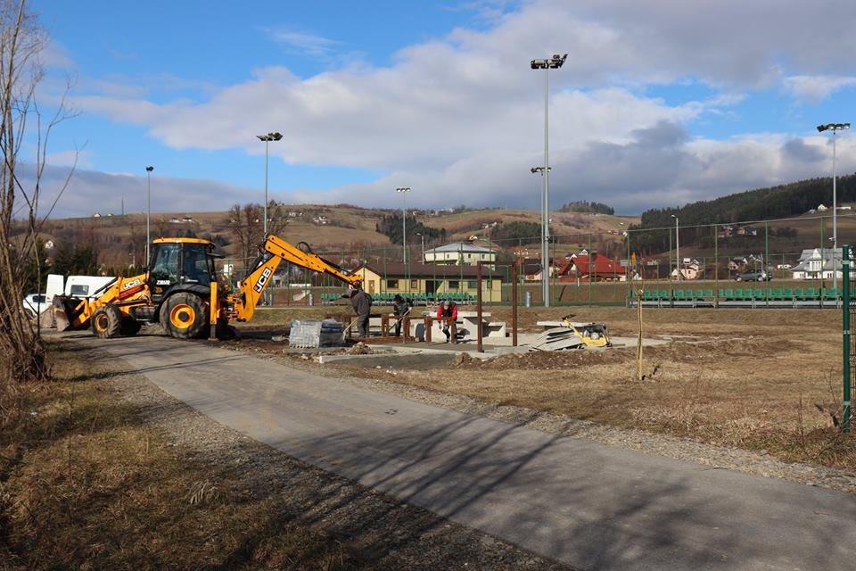 Rozpoczęto budowę Miejsca Obsługi Rowerzystów w Jazowsku
