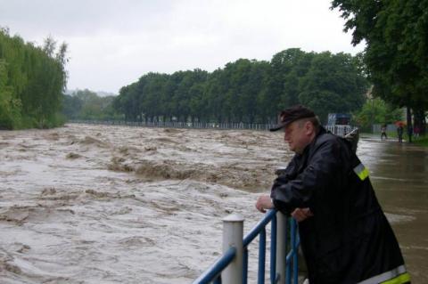 powódź na Sądecczyźnie