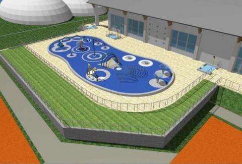 Interaktywny plac zabaw wodnych - MOSiR