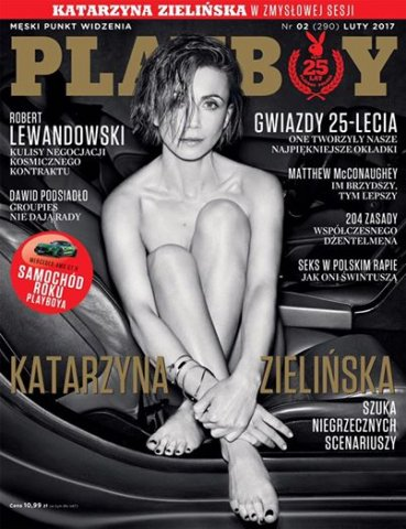 Ze Starego Sącza do Playboya. Co pokazała Kaśka Zielińska?