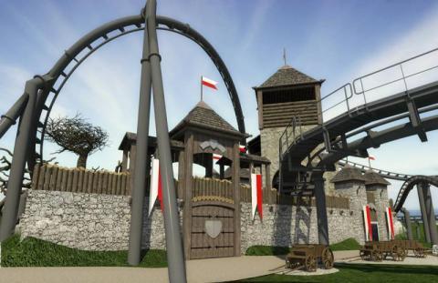 Sądecki Ersbet buduje największy rollecoaster w naszej części Europy!