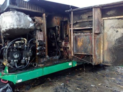 Pożar tartaku w Rabie Niżnej. Spłonął dobytek wart około 1 mln złotych