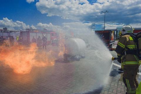 Strażacy będą ćwiczyć wybuch gazu LPG