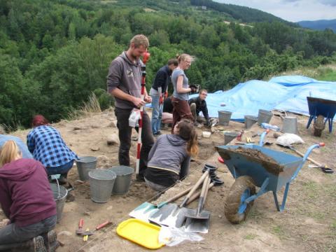 Co odkryli archeolodzy na górze Zyndrama w Maszkowicach