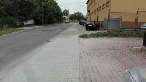 Chodnik na Asnyka naprawiony