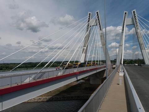 most na Wiśle, węzeł Rybitwy – węzeł Igołomska
