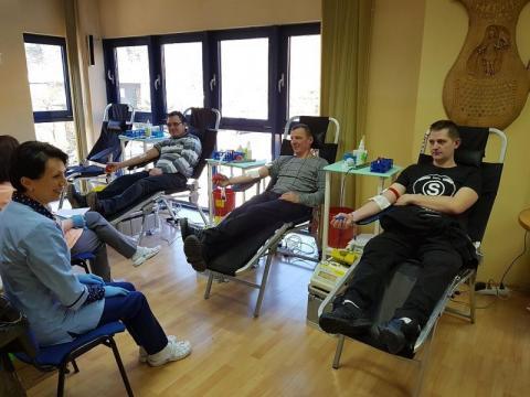 Strażacy oddawali krew w Krynicy-Zdroju
