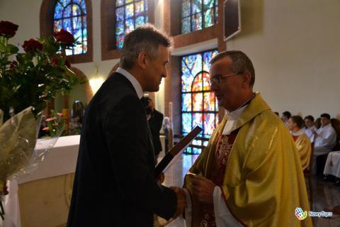 Zmiana proboszczów w parafii MBN. Ksiądz Markowicz emerytem