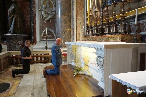 Prezydent Ryszard Nowak w Watykanie