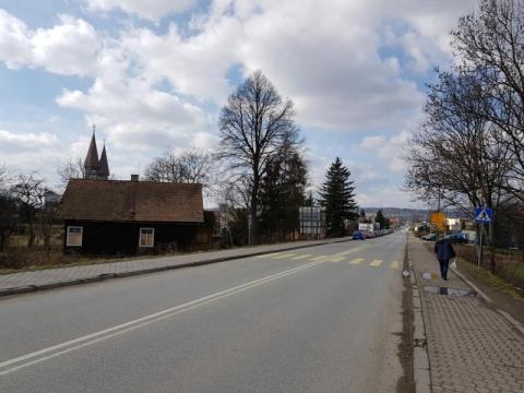 Ulica Krakowska w Nowym Sączu, fot. Iga Michalec