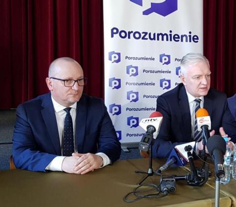 Krzysztof Głuc wstąpił do Porozumienia Jarosława Gowina, fot. Iga Michalec