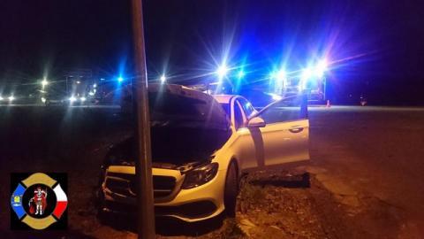 Kraksa w Łososinie Dolnej. Wymusiła pierwszeństwo i roztrzaskała dwa auta