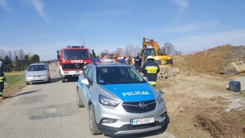 Tragiczny wypadek w Blechnarce. Koparka potrąciła dziecko