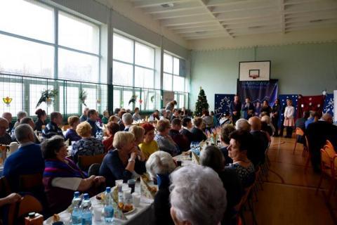 Spotkanie seniorów osiedla Dąbrówka