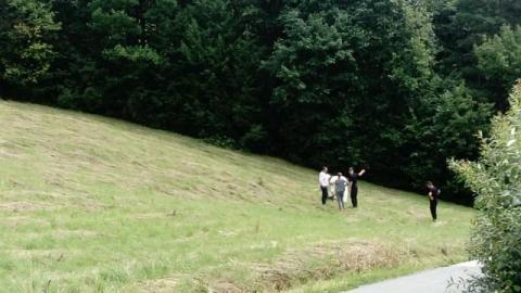 Makabryczne odkrycie. Znaleźli go w lesie na Paściej Górze w Biczycach Dolnych