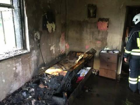 Pożar w Rytrze. Palił się dom [ZDJĘCIA]