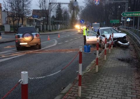 Wypadek w Nawojowej