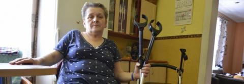 Straciła nogę w wypadku. Nie stać się jej na zakup protezy