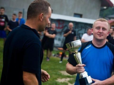 turniej piłkarski o puchar wójta gminy Łącko Jana Dziedziny