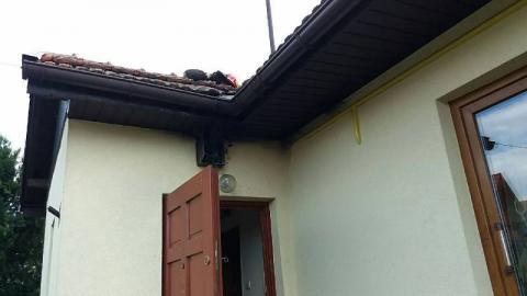 Nowy Sącz: Pożar na ul. Biegonickiej. Palił się dom mieszkalny