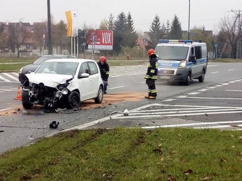 Wypadek na ulicy Piłsudskiego