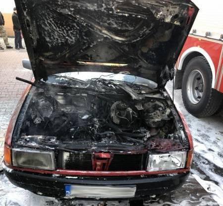 Pożary samochodów