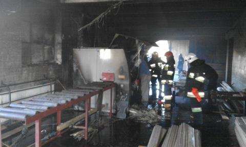 Palił się garaż w Woli Piskulinej. Z dymem poszło 40 tys. złotych