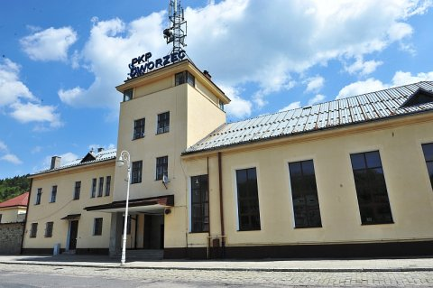 Dworzec PKP Krynica