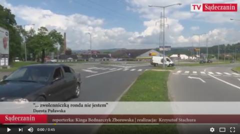 Rondo na skrzyżowaniu Alei Piłsudskiego i Nawojowskiej? Czy to ma sens? [FILM]