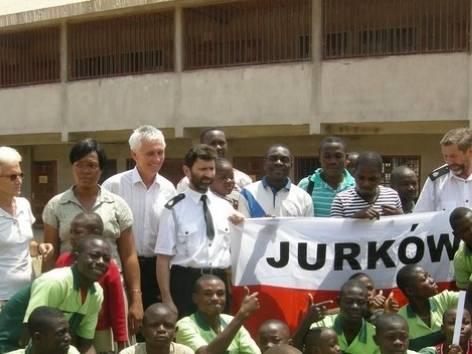 Budowlańcy z Jurkowa w Kamerunie