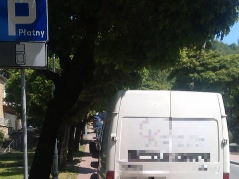 parkowanie w Krynicy to powód do konfliktów