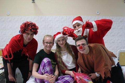 Mikołaje w szpitalu