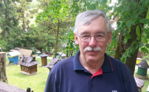 Jacek Nowak, najbardziej znany pszczelarz z Kamiannej