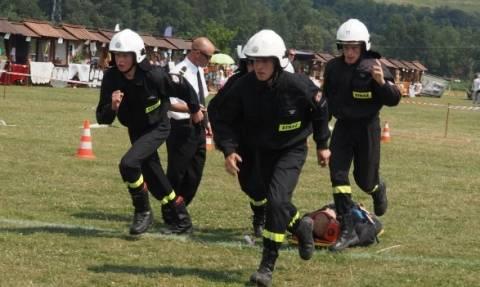 Łącko: Strażacy ratowali dwuletnią dziewczynkę!