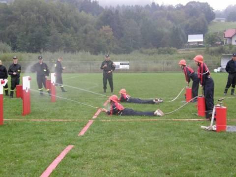 zawody młodzieżowych drużyn pożarniczych