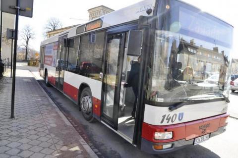 autobusy MPK dojeżdżają do gminy łącko