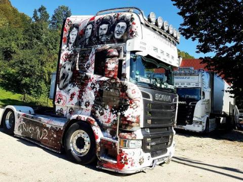 "Ciężarówka ""Rudy 102"""